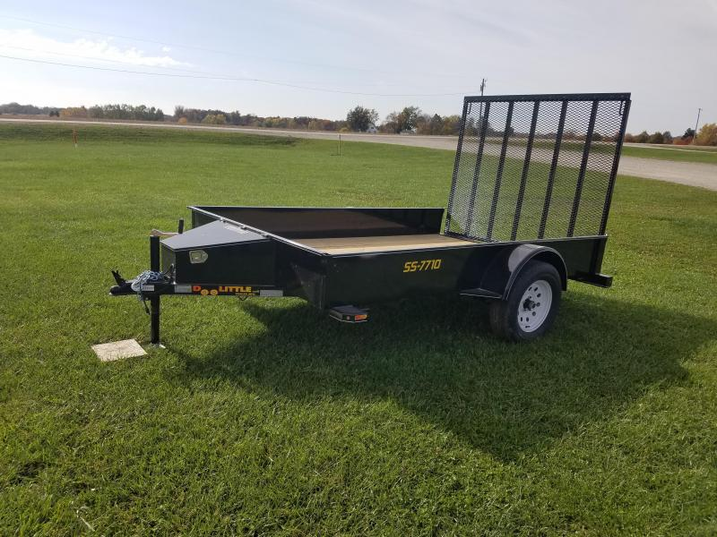 2018 Doolittle Trailer Mfg SS 77x10 Utility Trailer