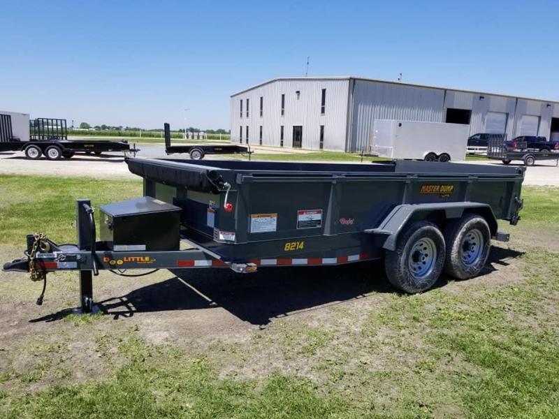 2019 Doolittle Trailer Mfg 82x14 Master Dump 14k Dump Trailer