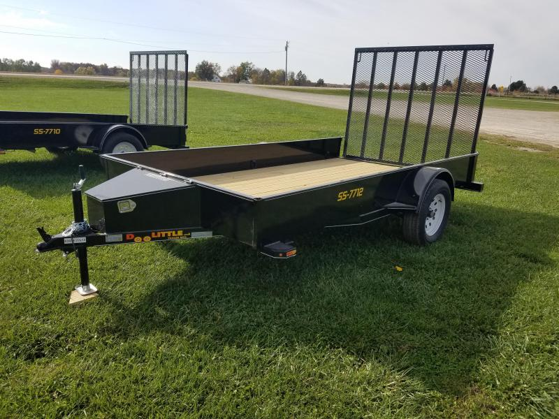 2018 Doolittle Trailer Mfg SS 77x12 Utility Trailer
