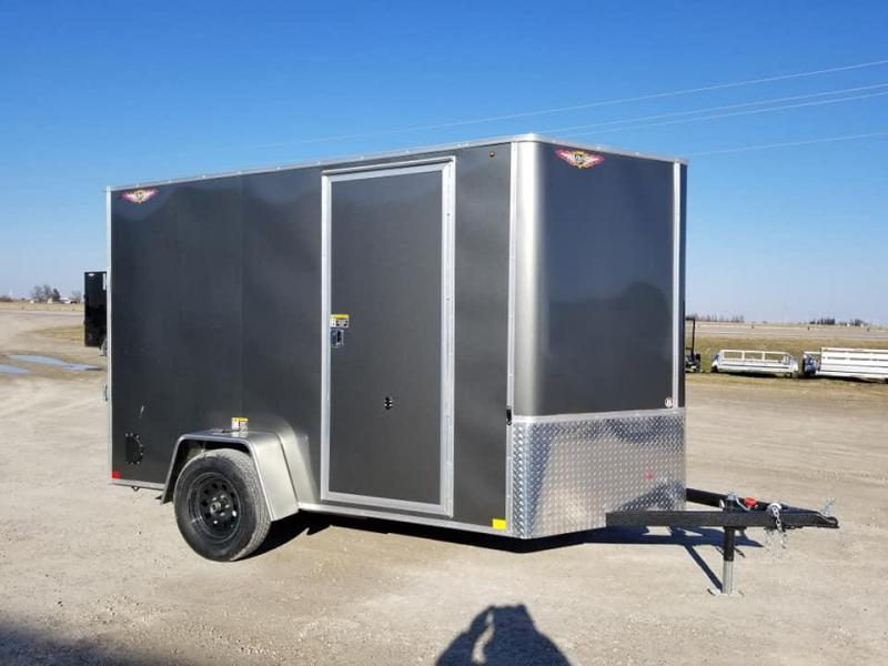 2019 H and H Trailer 6X10 Enclosed Cargo Trailer