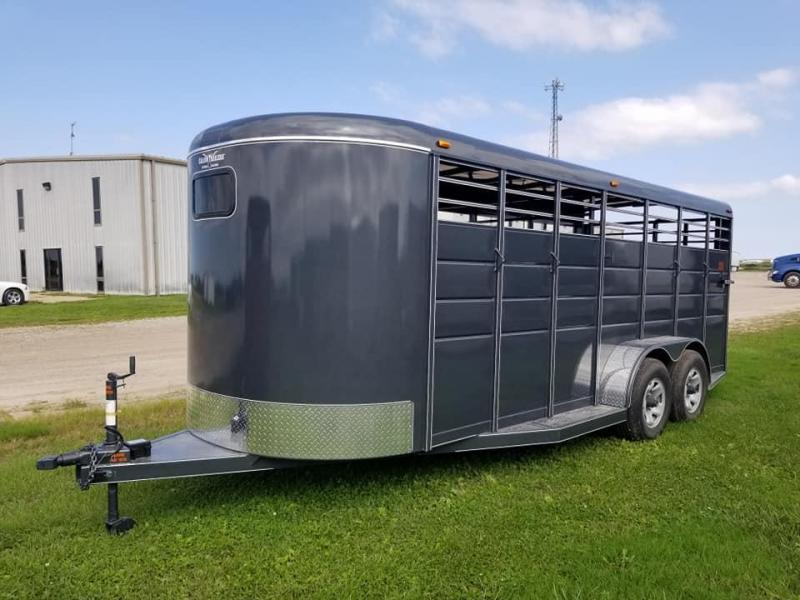 2020 Calico Trailers 20Ft Bumper Pull Livestock Trailer