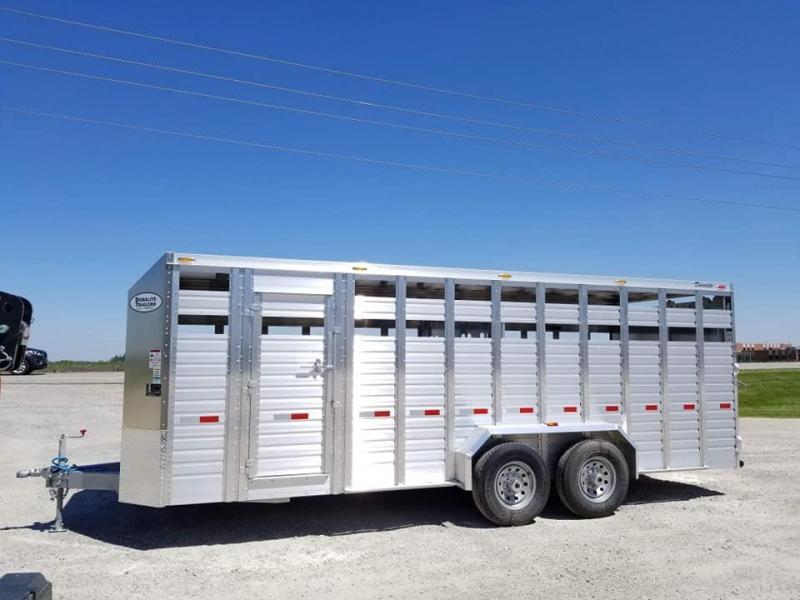 2019 Other Duralite 20ft Bumper Pull Livestock Trailer