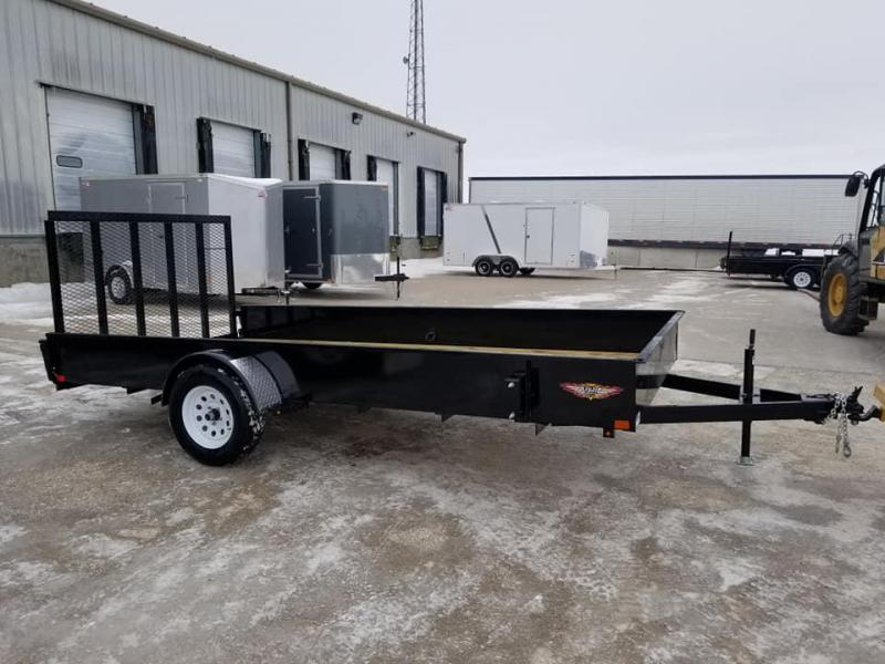 2019 H and H Trailer 82x14 Solid Side Utility Trailer in Ashburn, VA