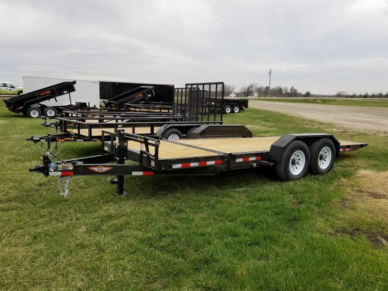 2018 H and H Trailer 20ft 14k Tilt Bed Equipment Trailer