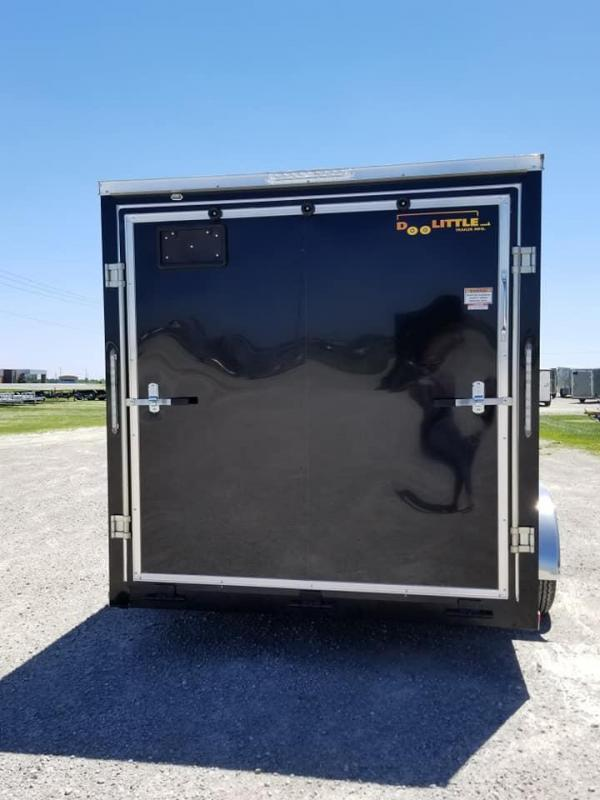 2019 Doolittle Trailer Mfg 7X14 Bullitt Enclosed Cargo Trailer