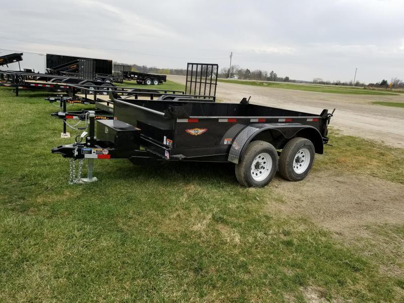 2018 H and H Trailer 76x10 Utility 10k Dump Trailer