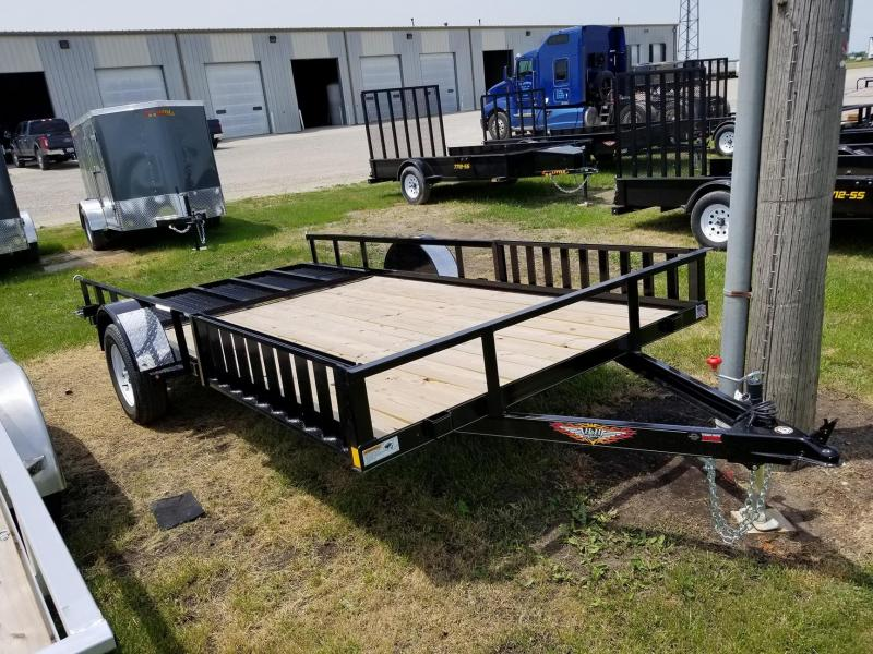 2018 H and H Trailer 82x14 ATV Trailer
