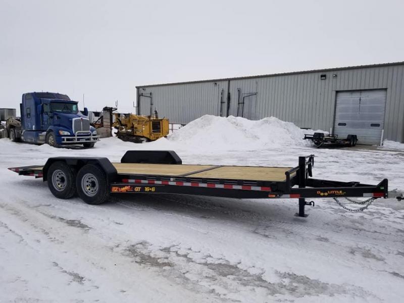 2019 Doolittle Trailer Mfg 82x22 EZ Loader GT 14k Tilt Bed Equipment Trailer