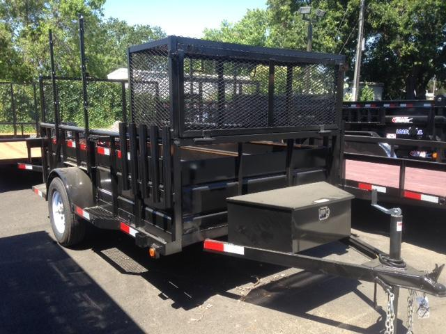 2018 R and J Trailers Inc Landscape 5x10 Utility Trailer