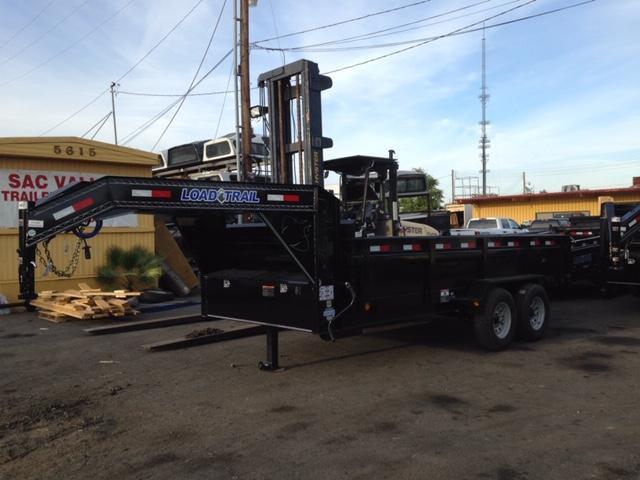 "2019 Load Trail 83"" X 16' Tandem Gooseneck Equipment Trailer"