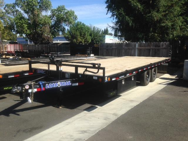 "2018 Load Trail 102"" X 22' Deck Over Equipment Trailer"