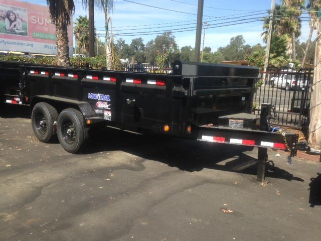 "2018 Load Trail 83"" X 14' Tandem Axle  Dump Trailer"