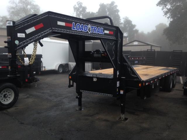 "2018 Load Trail 102"" X 30' Tandem Heavy Duty Gooseneck Equipment Trailer"