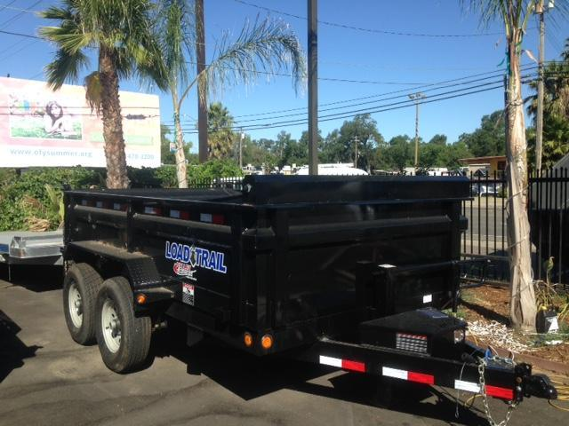 "2019 Load Trail 83"" X 14' Tandem Axle Dump Dump Trailer"