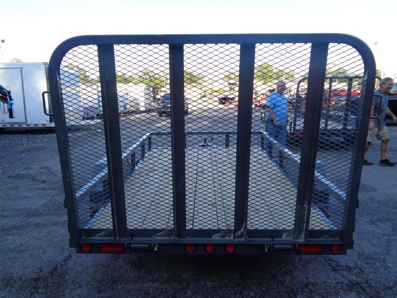 2020 PJ Trailers 10' x 72 in. Single Axle Channel Utility (U2) Utility Trailer