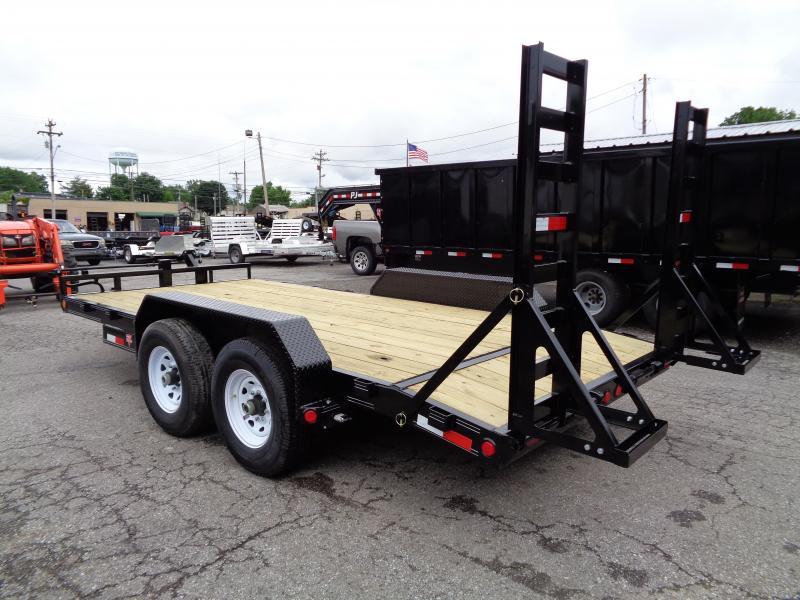 2020 PJ Trailers 16' x 6 in. Channel Equipment (CC) Equipment Trailer
