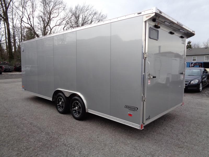 2019 Bravo Trailers 8.5' x 20' Aluminum Enclosed Car Trailer