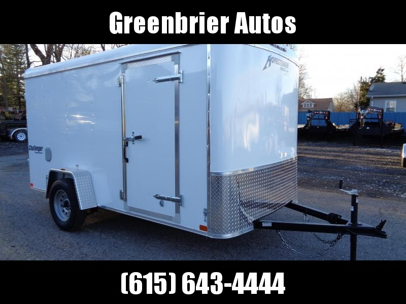 2019 Homesteader Challenger 6' x 12' Enclosed Cargo Trailer