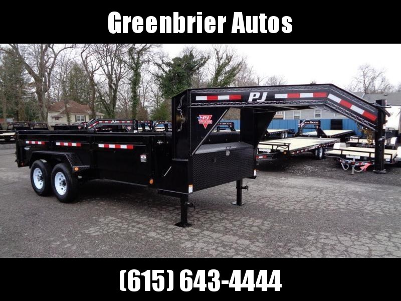 "2020 PJ Trailers 16' x 83"" Low Pro Dump (DL)"