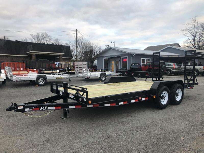 2019 PJ Trailers 18' 6 in. Channel Equipment Trailer (CC)