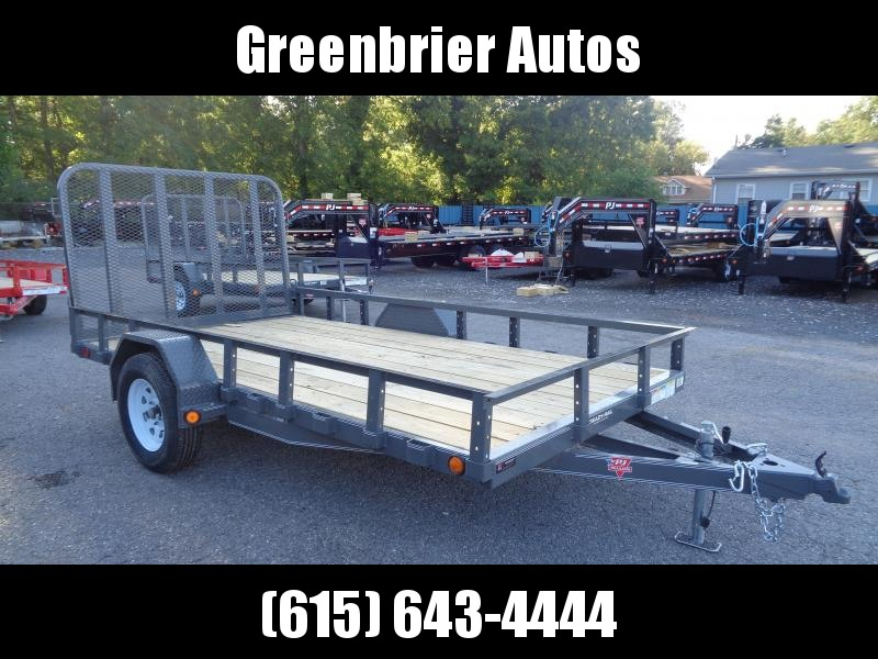 Red, Gray and Tan Flatbed Trailers for sale | Dump, Utility