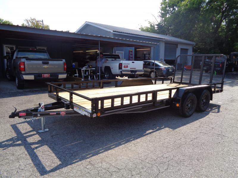 2020 PJ Trailers 18' x 83 in. Tandem Axle Channel Utility (UL) Utility Trailer