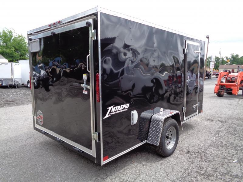 2019 Homesteader Intrepid 7' x 12' x 6' Enclosed Cargo Trailer