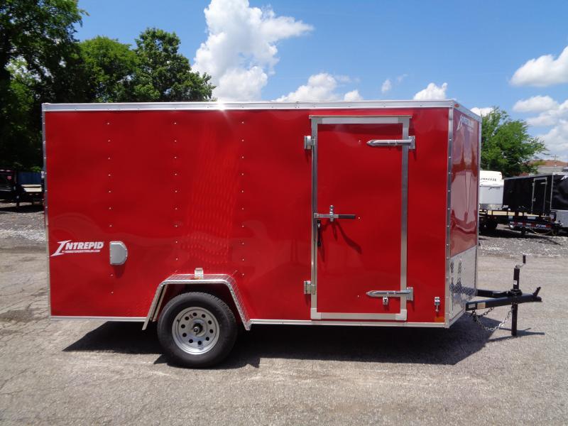 2019 Homesteader Intrepid 6' x 12' x 6' Enclosed Cargo Trailer