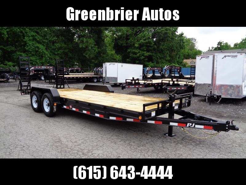 2020 PJ Trailers 22' x 6 in. Channel Equipment (CC) Car / Racing Trailer