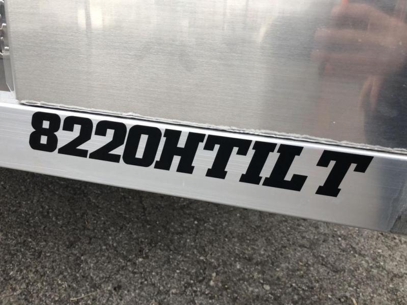 2020 Aluma 25th Anniversary 8220HTILT Car Trailer