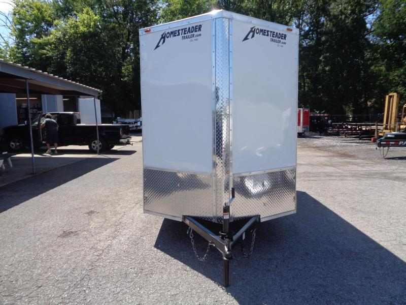 "2020 Homesteader Intrepid 6' x 12' x 6'6"" Enclosed Cargo Trailer"