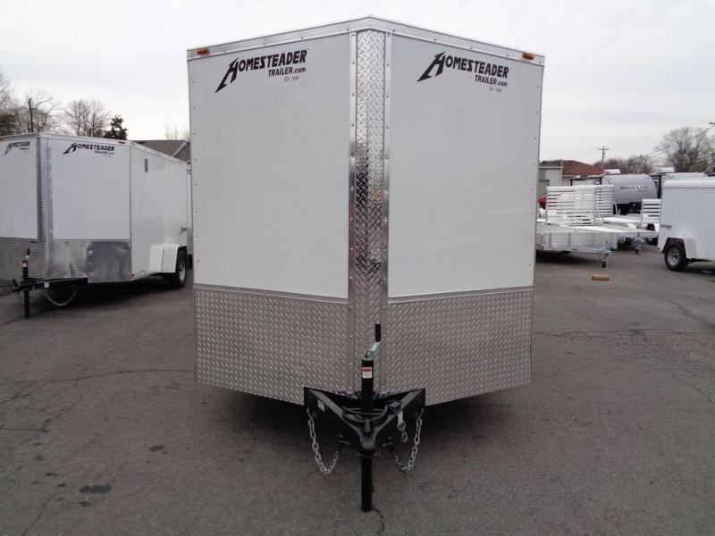 2019 Homesteader Intrepid 7' x 14' Enclosed Cargo Trailer
