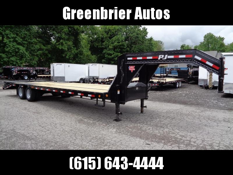 2020 PJ Trailers 30' Low-Pro Flatdeck with Duals (LD)