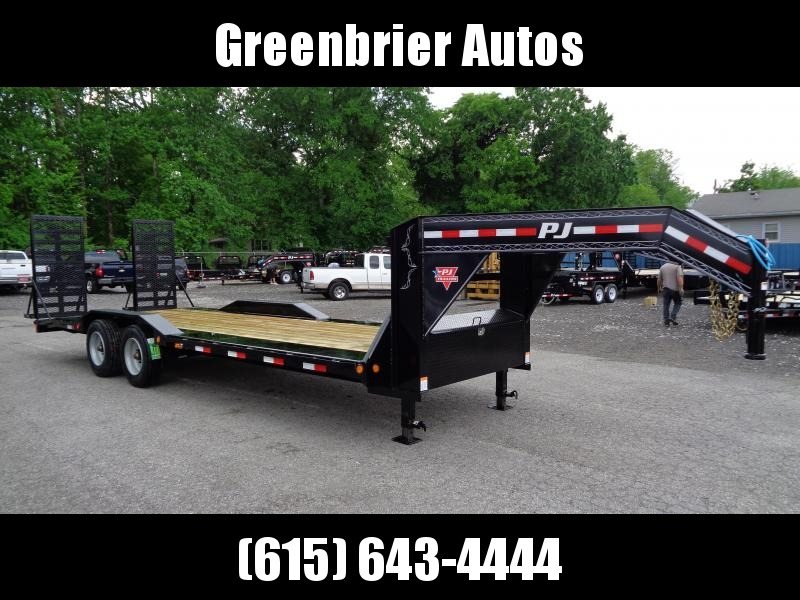 "2019 PJ Trailers 24' x 10"" Pro-Beam Super-Wide Equipment Trailer (H7)"