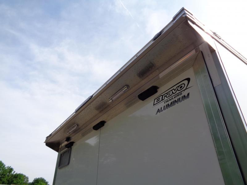 2019 Bravo Trailers 8.5' x 24' Aluminum Auto Performance Trailer Enclosed Cargo Trailer