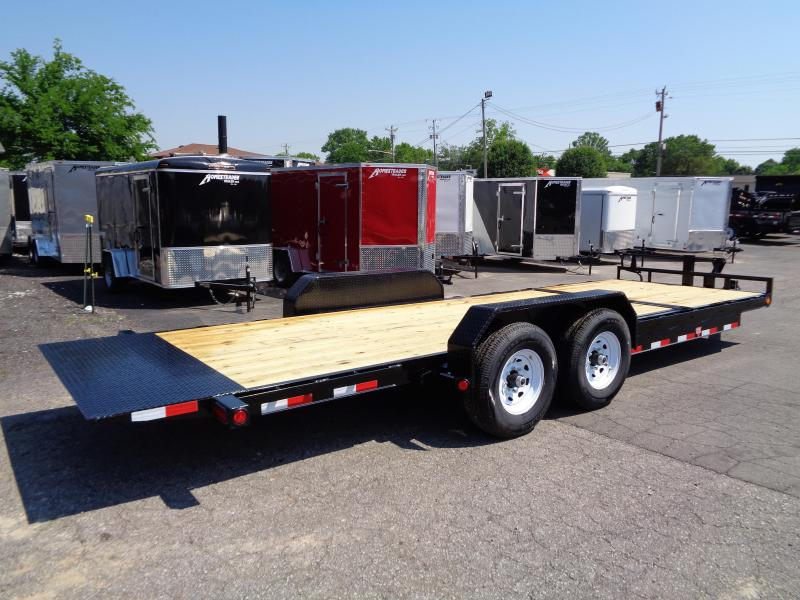 2020 PJ Trailers 22' 6 in. Channel Equipment Tilt (T6)