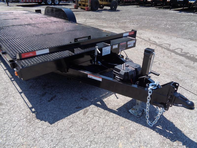 2019 Hawke Trailers 20' 12K GVWR Standard Power Tilt Equipment Trailer