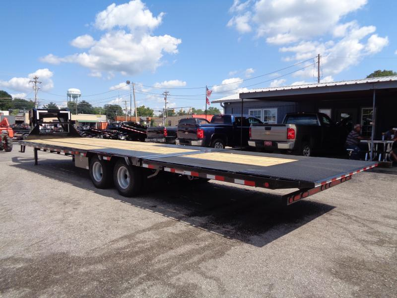 2020 PJ Trailers 34' Low-Pro with Hydraulic Dove Flatbed Trailer (LY)