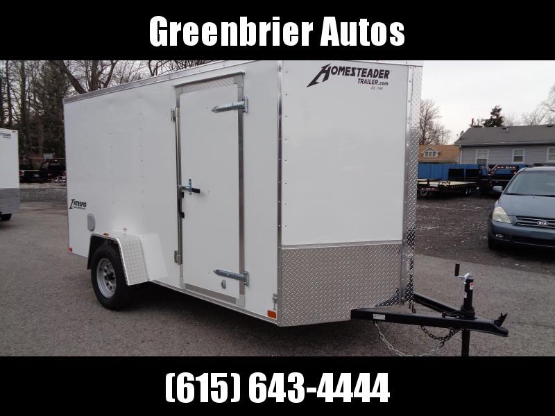 2019 Homesteader Intrepid 6' x 12' Enclosed Cargo Trailer