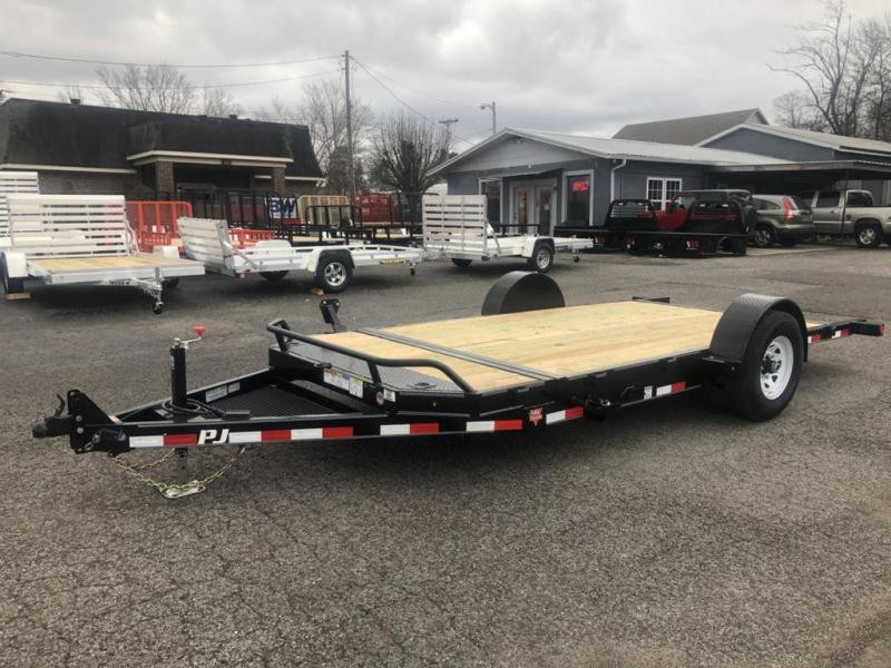 2020 PJ Trailers 16' Single Axle HD Tilt (T1)
