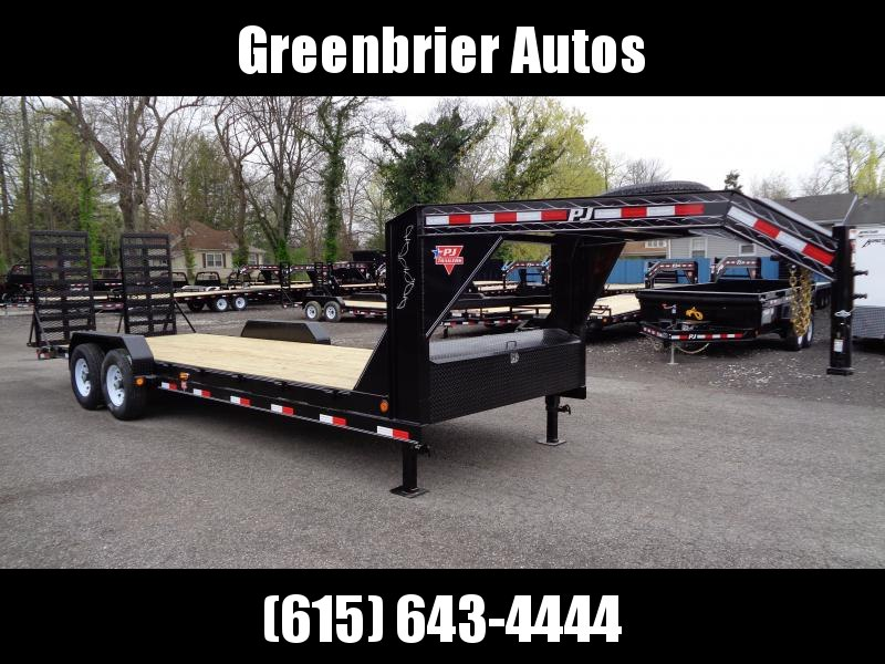 "2019 PJ Trailers 24' x 6"" Channel Equipment Trailer (CC)"