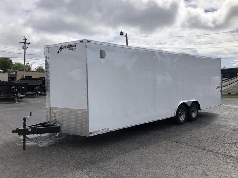 2019 Homesteader Intrepid 8.5' x 24' x 6.5' Enclosed Car Trailer
