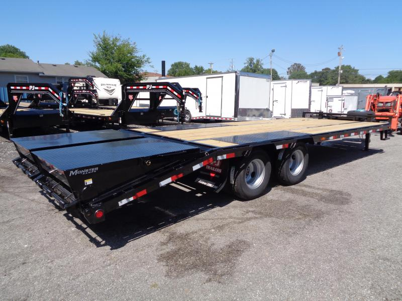 2020 PJ Trailers 25' Low-Pro Pintle with Duals (PL) Flatbed Trailer