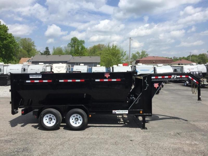 2019 PJ Trailers Rollster Roll-off Dump 14' with 1 Dump Bin (DR)