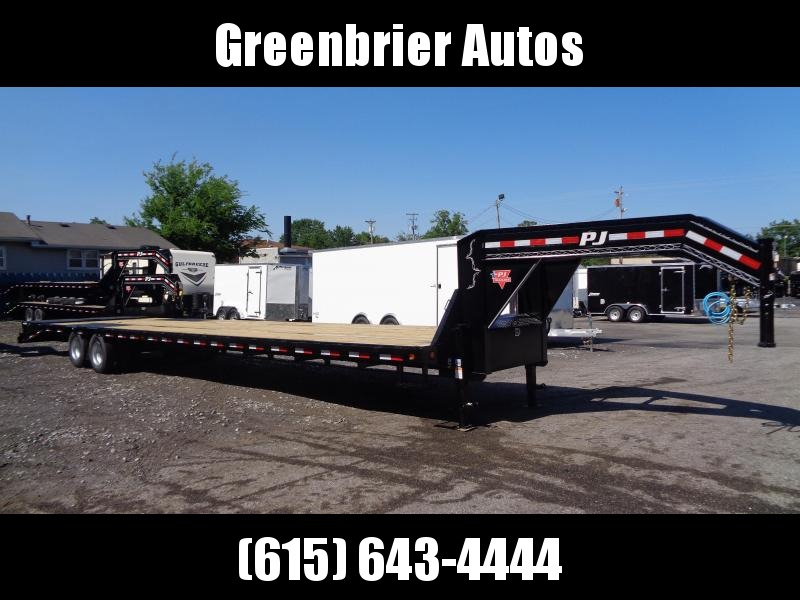 2020 PJ Trailers 40' Low-Pro Flatdeck with Duals (LD) Flatbed Trailer