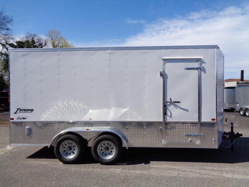 2019 Homesteader Intrepid 7 x 16 OHV Pkg Enclosed Cargo Trailer