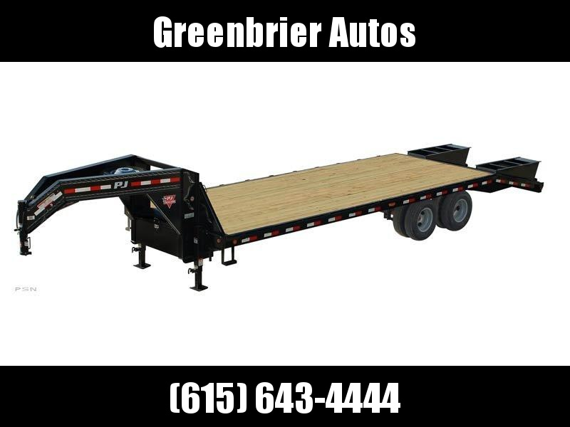 2020 PJ Trailers 28' Classic Flatdeck with Duals (FD)