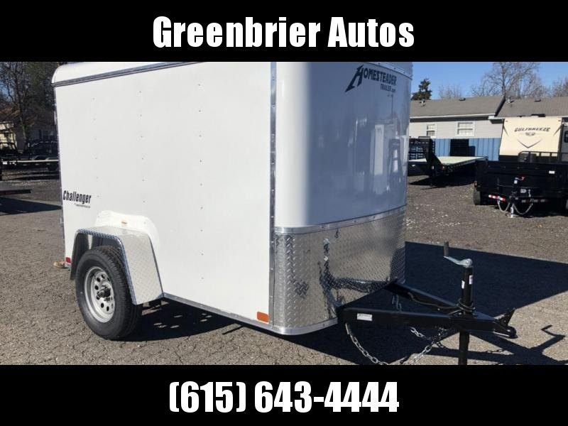 2019 Homesteader 5' x 8' Enclosed Cargo Trailer