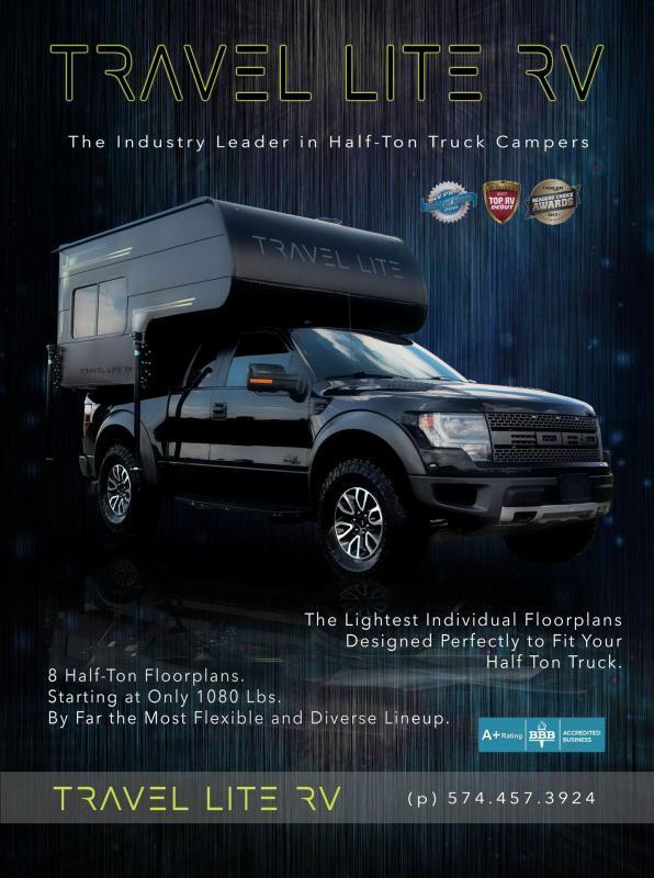 2019 Travel Lite RV 625SL Truck Camper | New & Used Campers