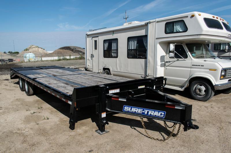 2020 Sure-Trac 8 5x20+5 LowPro Deckover Tandem Pintle 22 5K